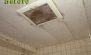 浴室天井・換気扇